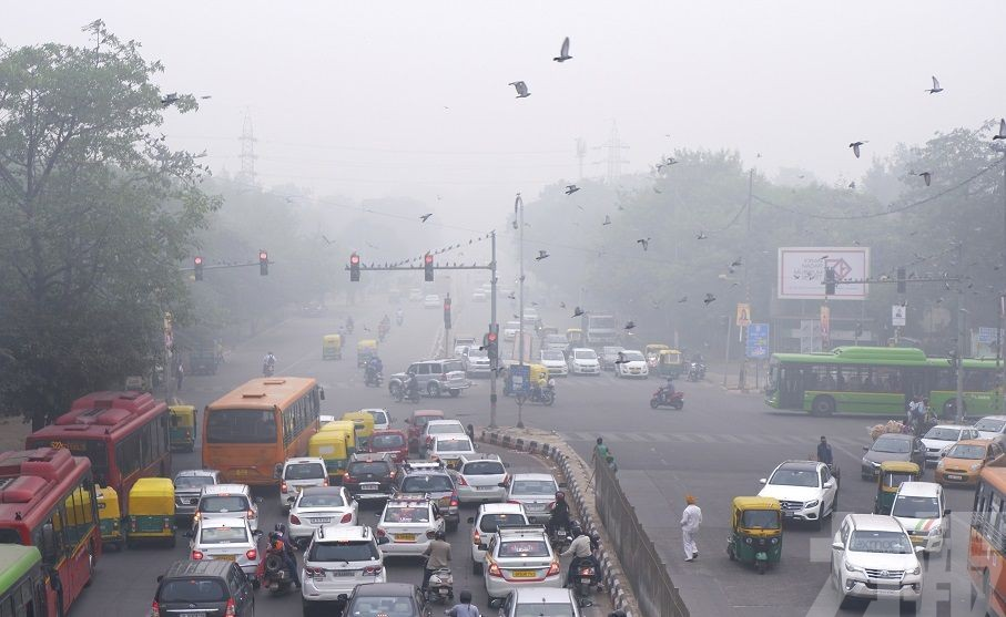 印度新德里變「毒氣室」