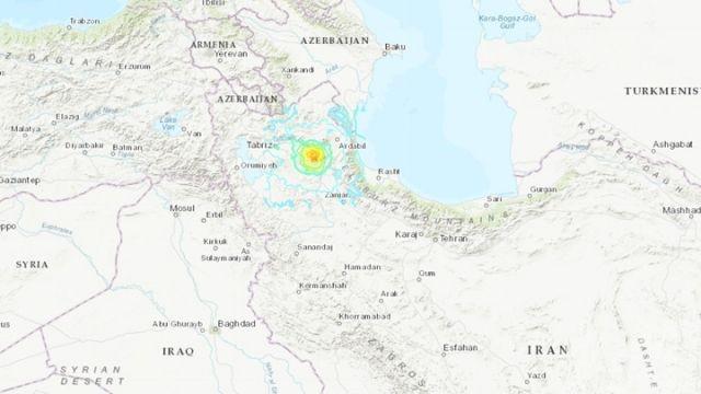 【伊朗5.9級地震】增至5死逾300傷