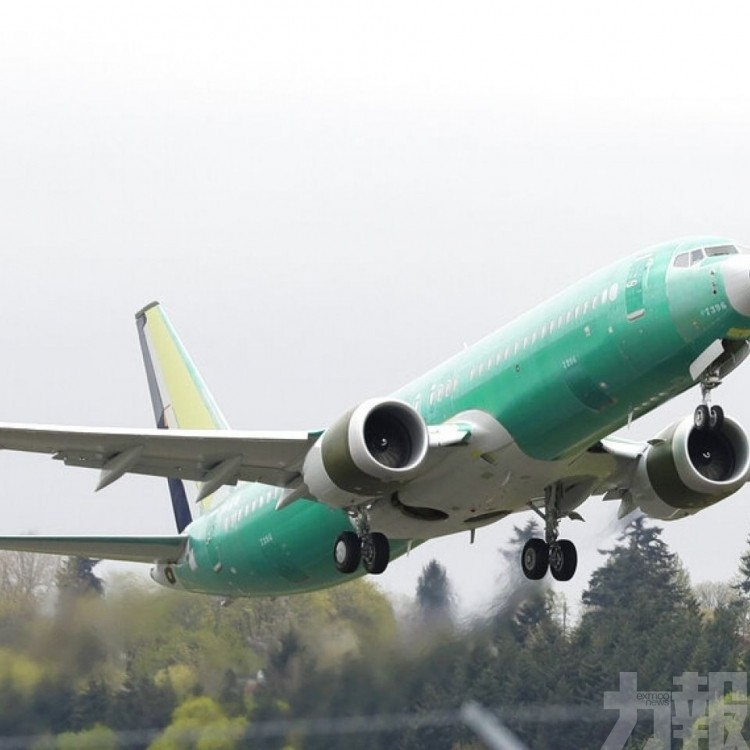 波音預測737 MAX飛機最快明年1月復飛