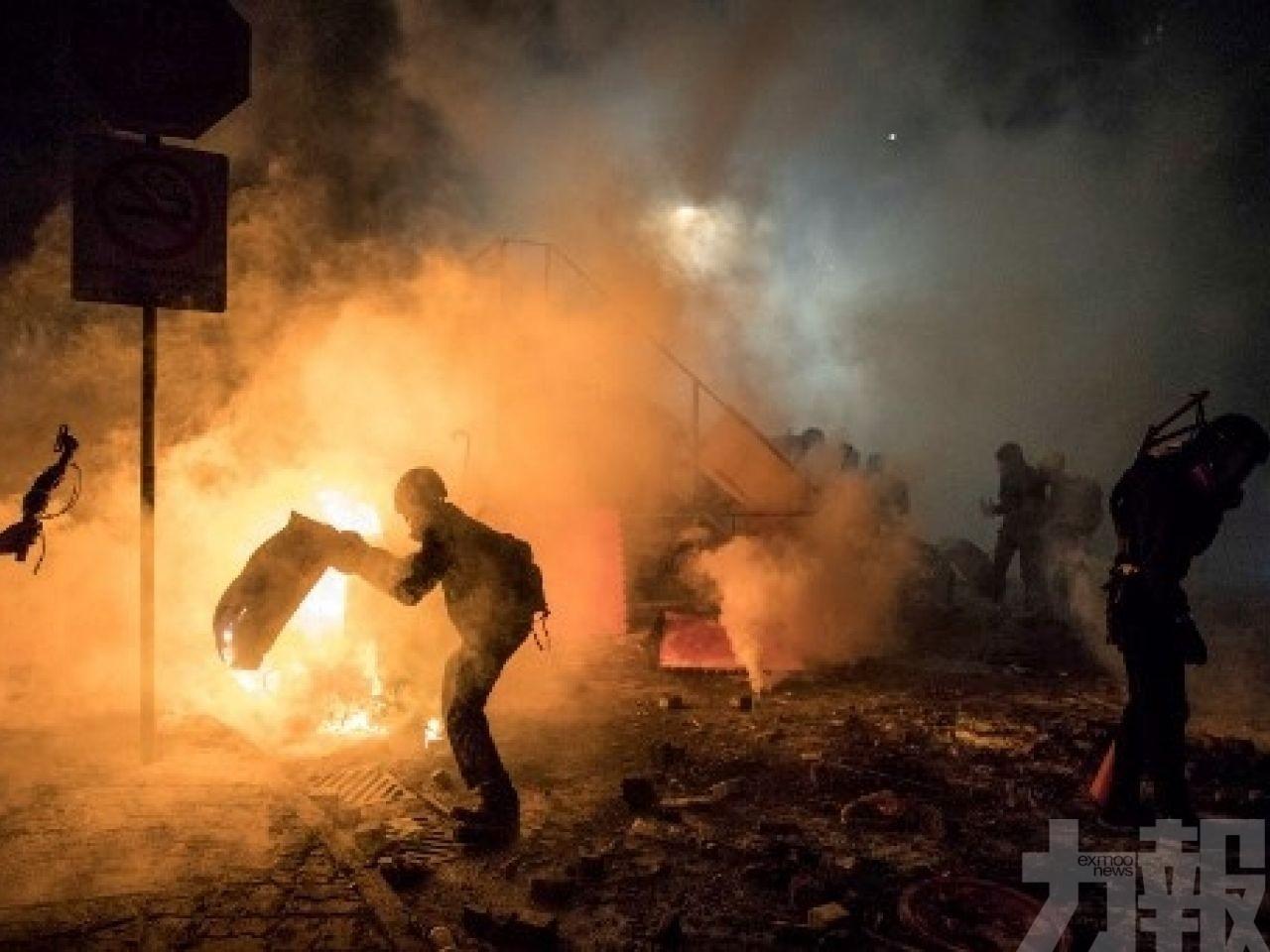歐盟促香港各方克制