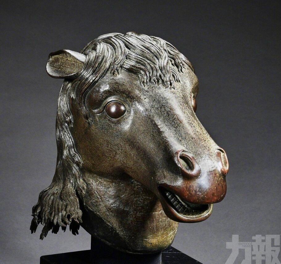 馬首銅像歸藏圓明園