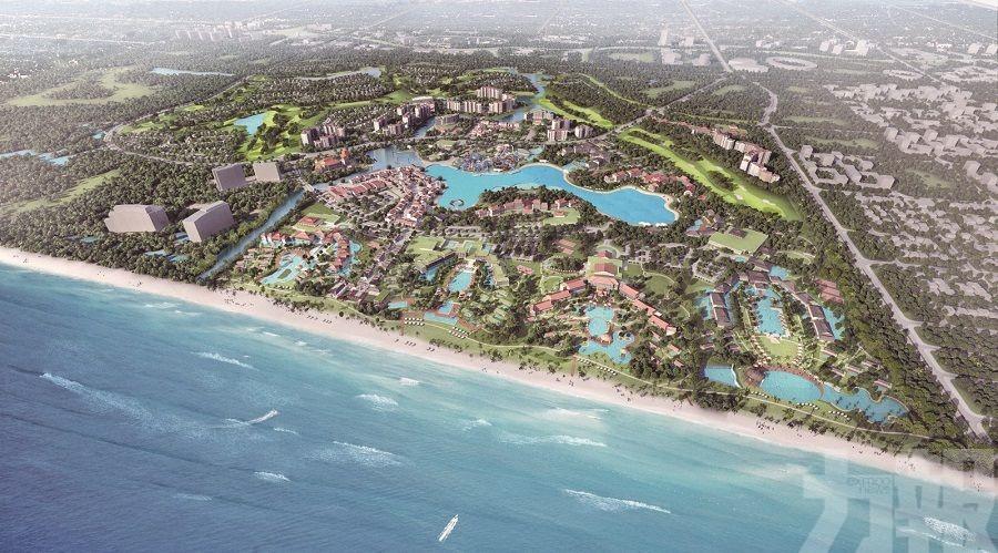 展示未來綜合娛樂度假村發展計劃