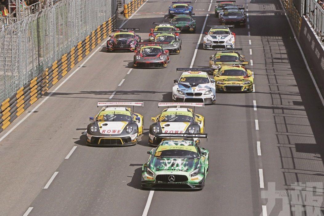 馬些路捧走GT世界盃錦標