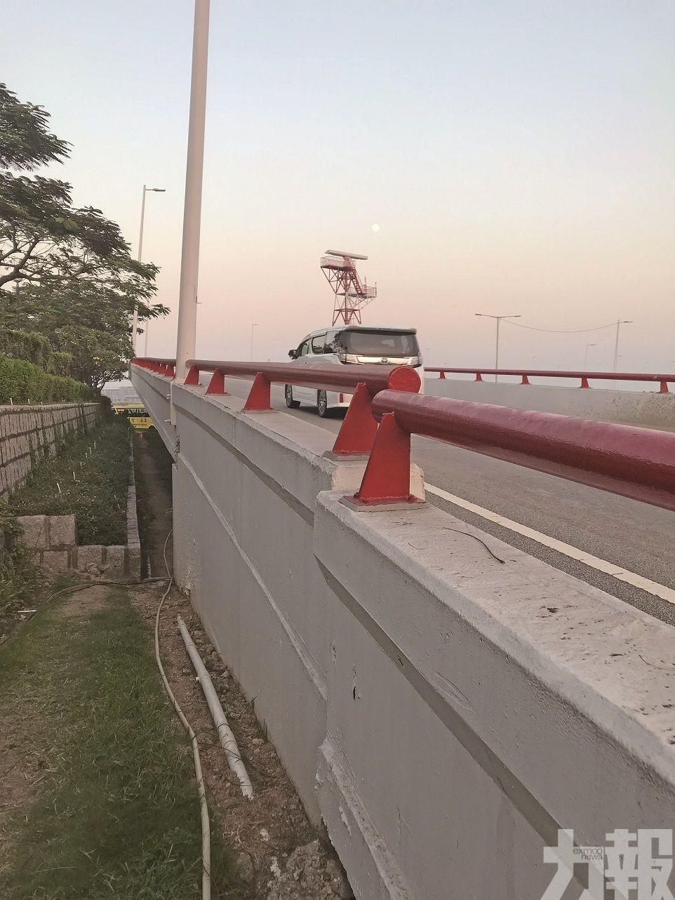 議員促政府須加強跨海大橋結構安全問題