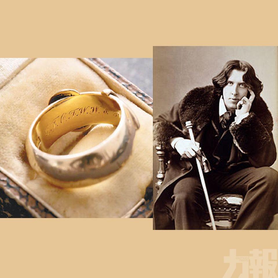 王爾德失竊17年金戒指終在黑市尋回