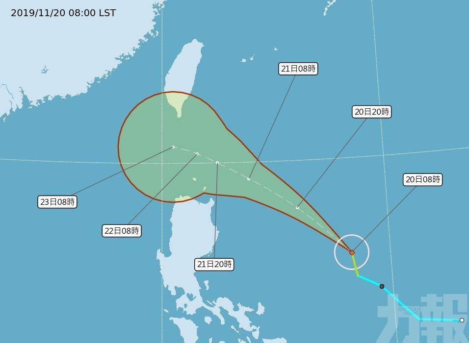 最快明起影響台灣