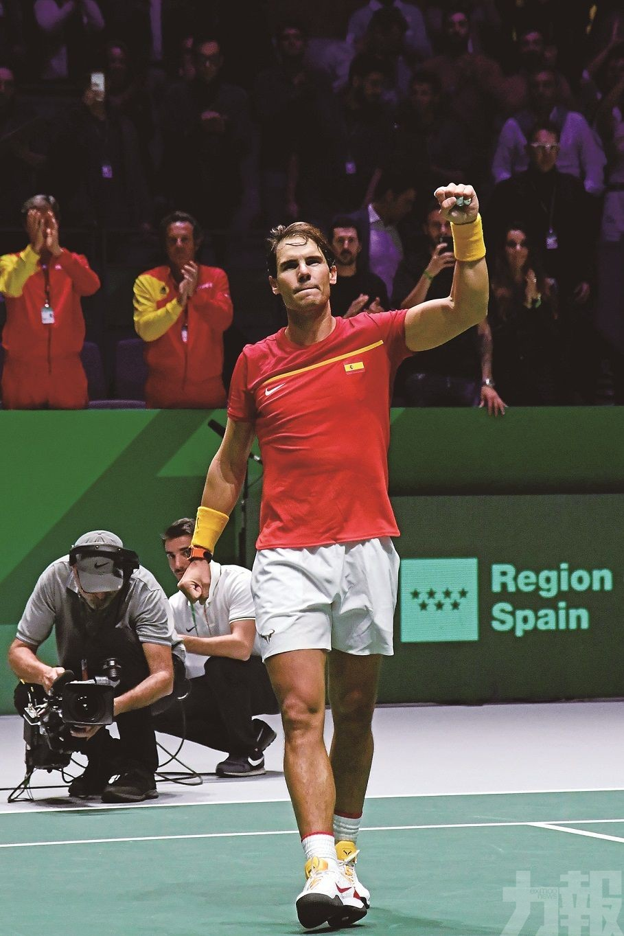 西班牙闖台維斯盃8強