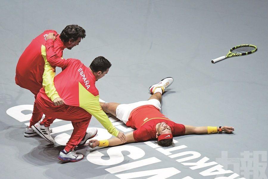 西班牙6 奪台維斯盃
