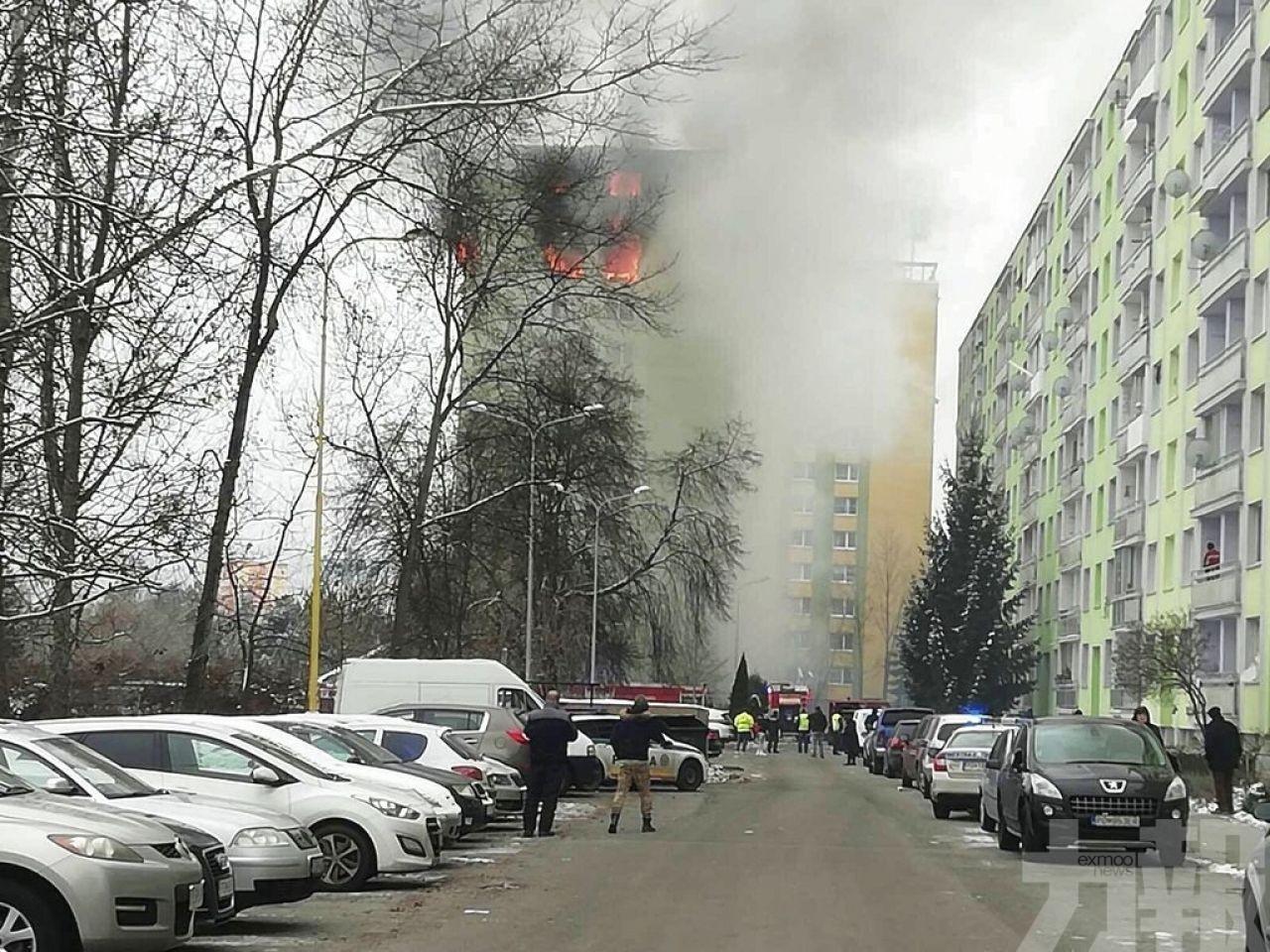 斯洛伐克住宅氣體爆炸5死逾40傷