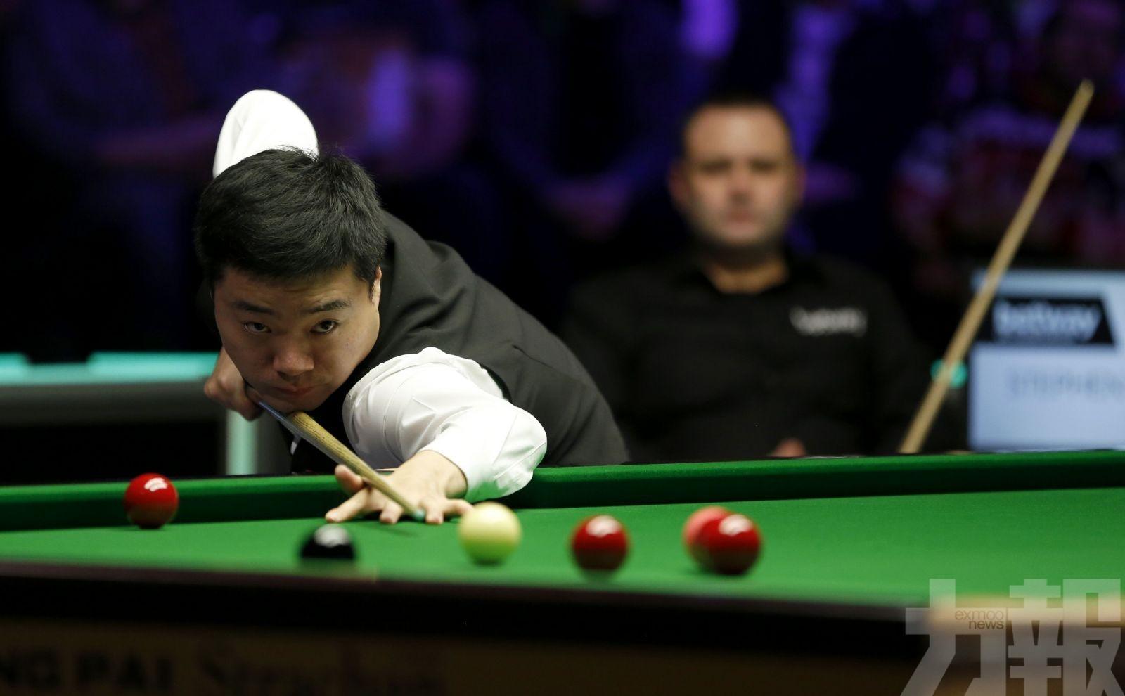 丁俊暉3奪英國桌球錦標賽冠軍