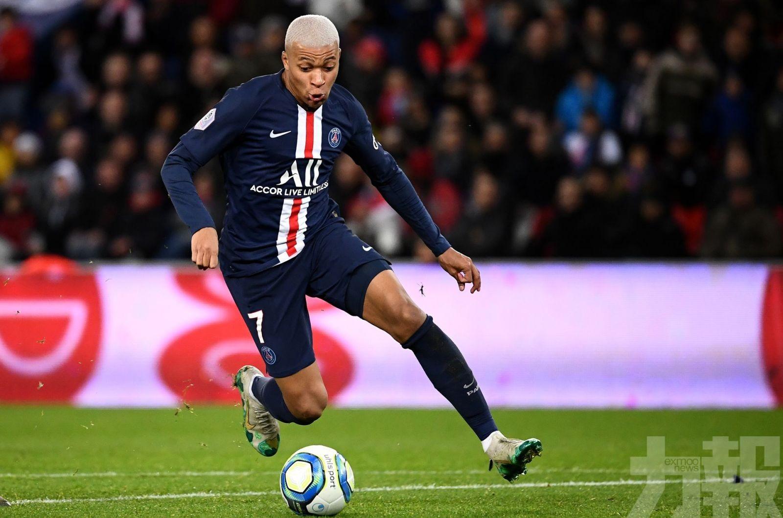 麥巴比「冧莊」獲法國足球先生殊榮