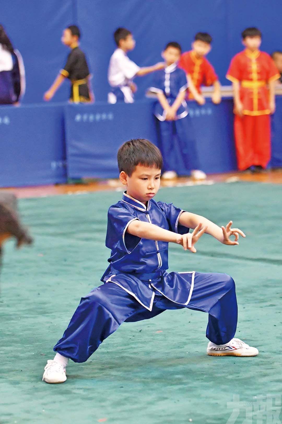 學界武術賽本周末中葡職中上演