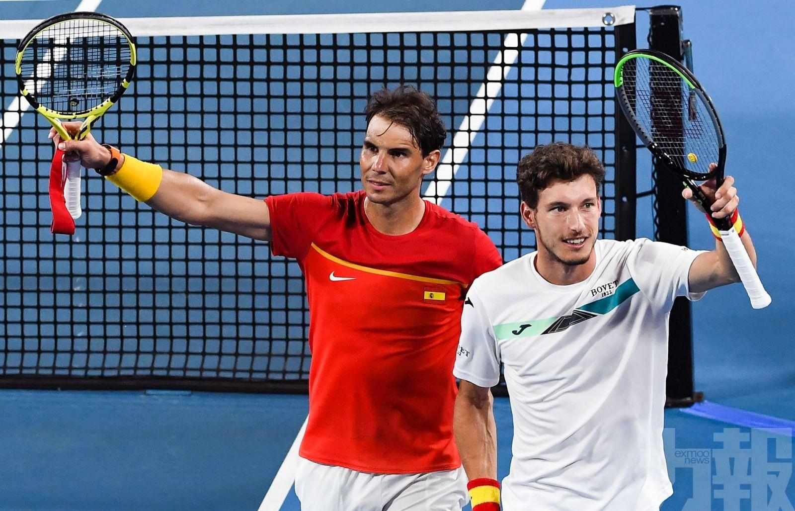 西班牙仍挫比利時闖ATP盃4強