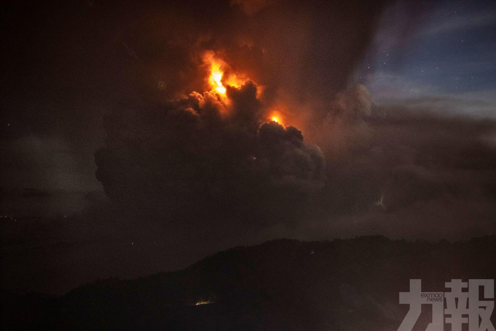 當局警告恐有「火山海嘯」危機