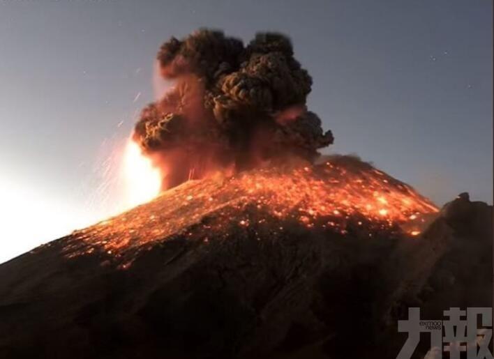 塔爾火山熔岩噴至800米高空