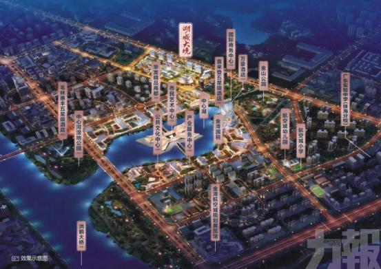 未來我們要習慣一個2.5萬+的航空新城!
