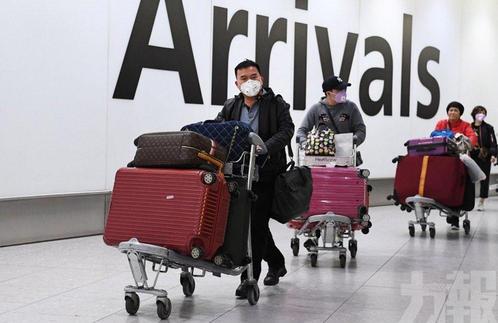 英航停飛北京、上海航線