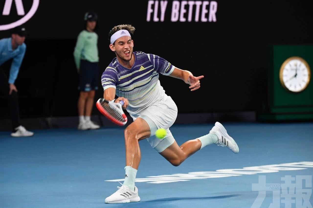 泰姆首闖澳網男單決賽