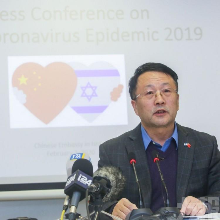 臨時代辦失言 中國大使館致歉