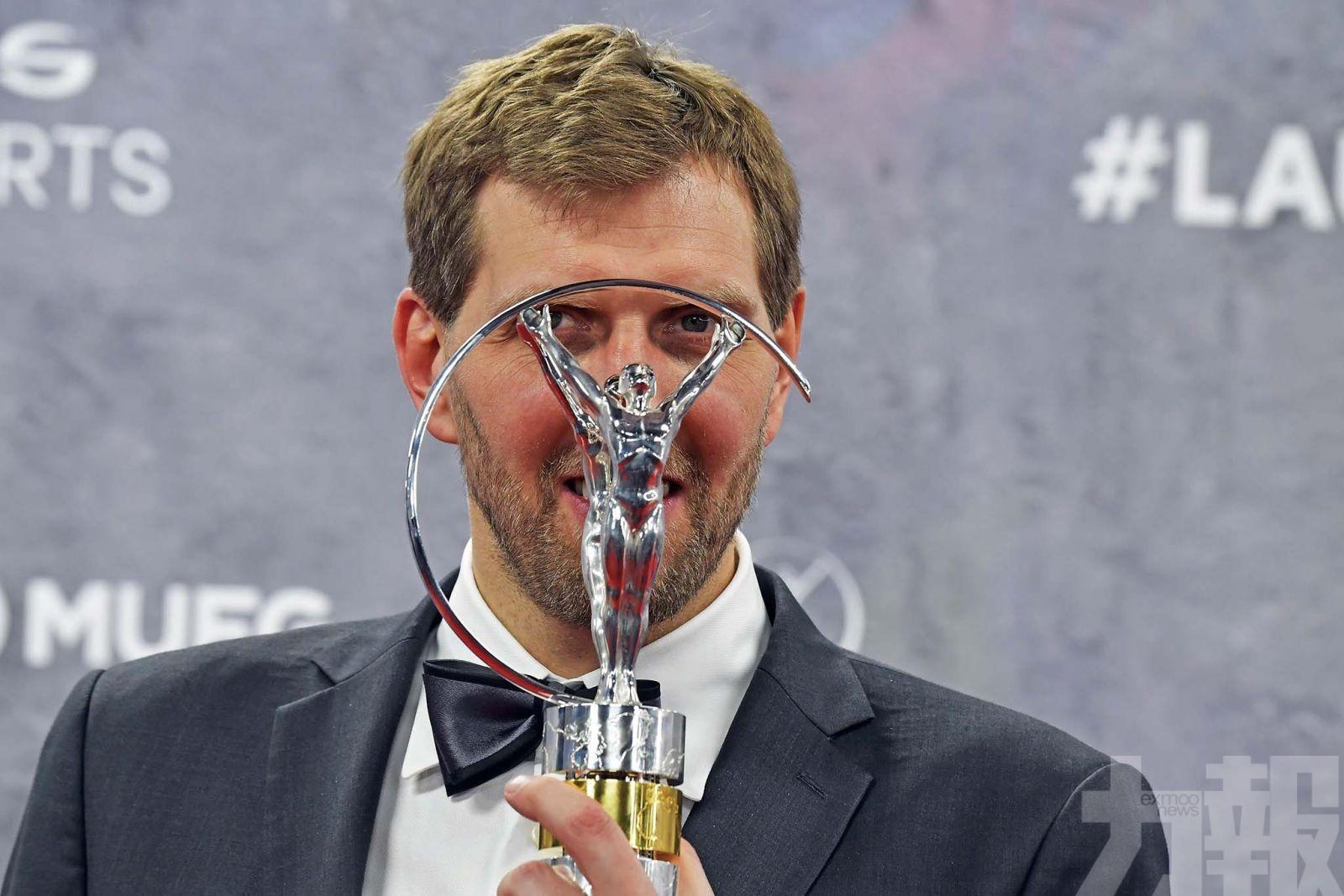 美斯咸美頓同奪最佳男運動員獎