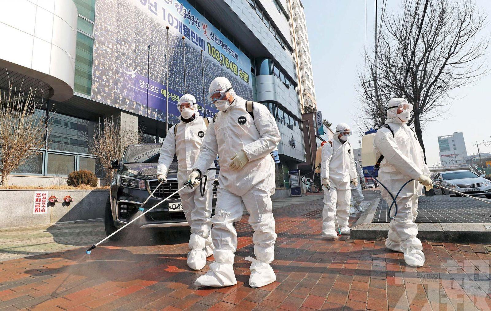韓國疫情進入社區傳播本土104確診 超過日本