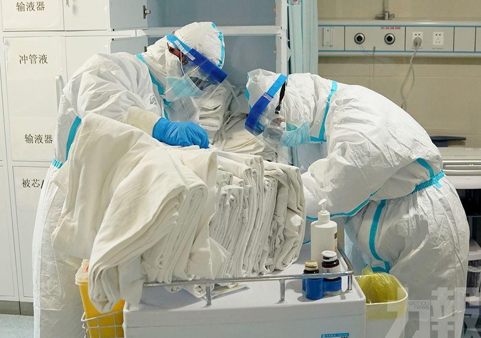 湖北昨有366人染新冠肺炎 出院1,767