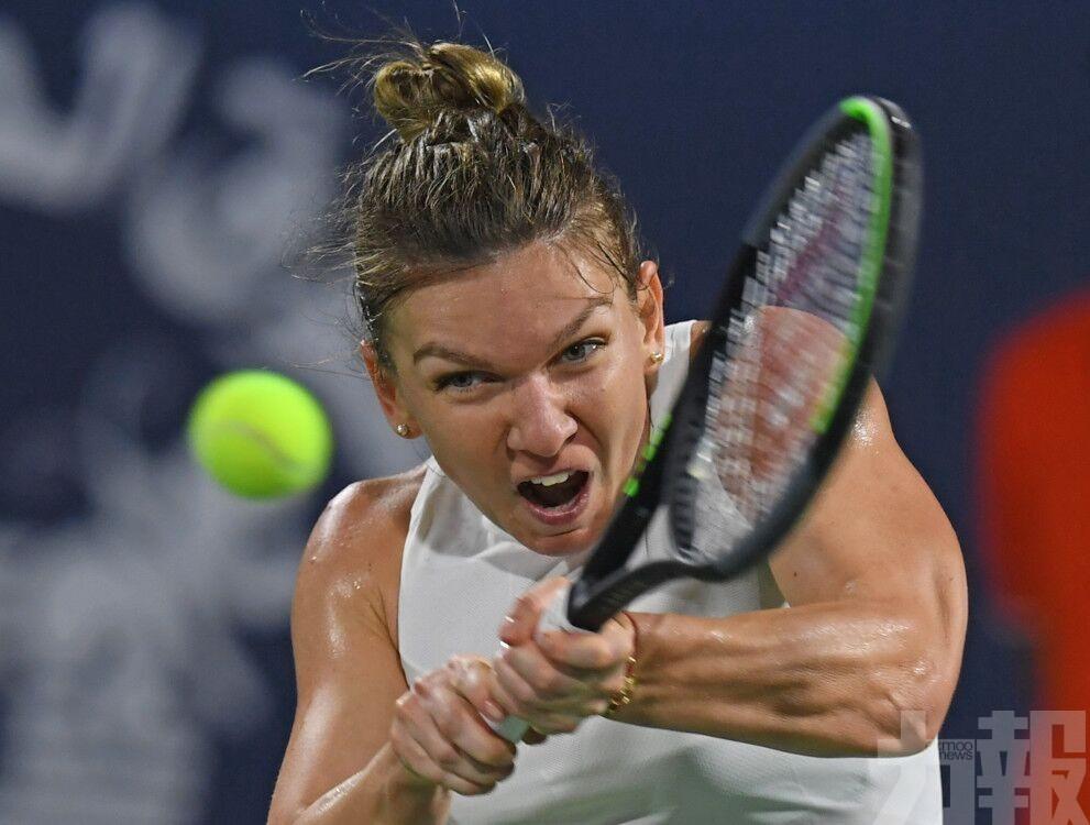 夏莉比喜捧杜拜網球賽女單冠軍