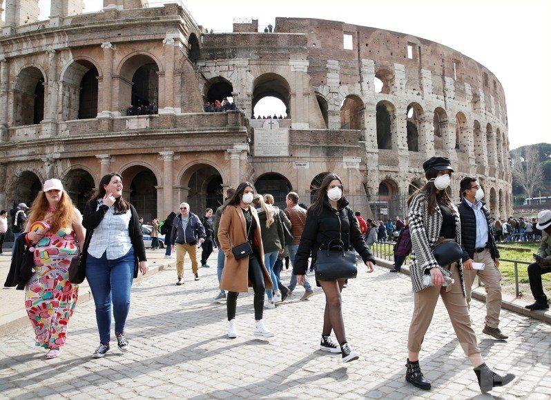 意大利疫情嚴重 單日上升25%
