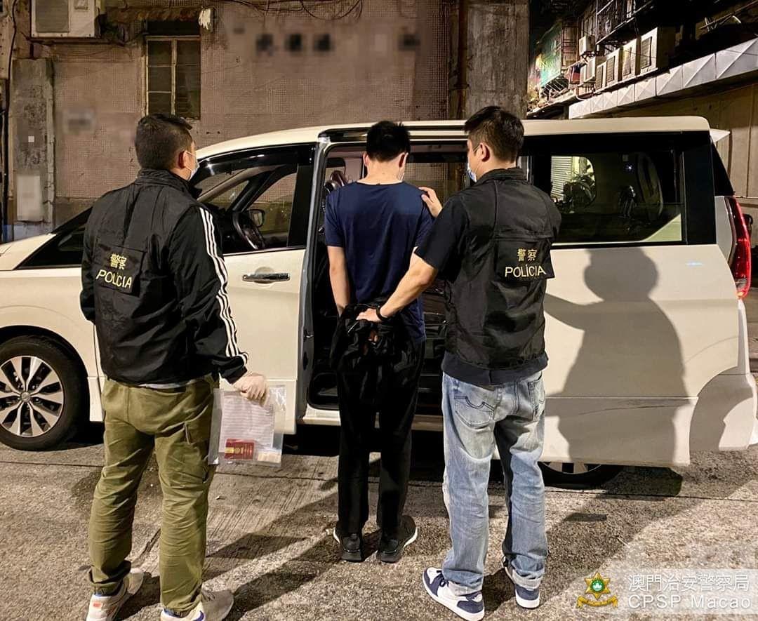 男外僱涉販毒被捕