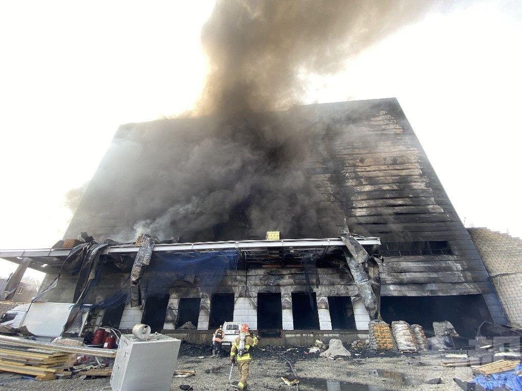 首爾京畿道倉庫大火 死者包括一名中國公民