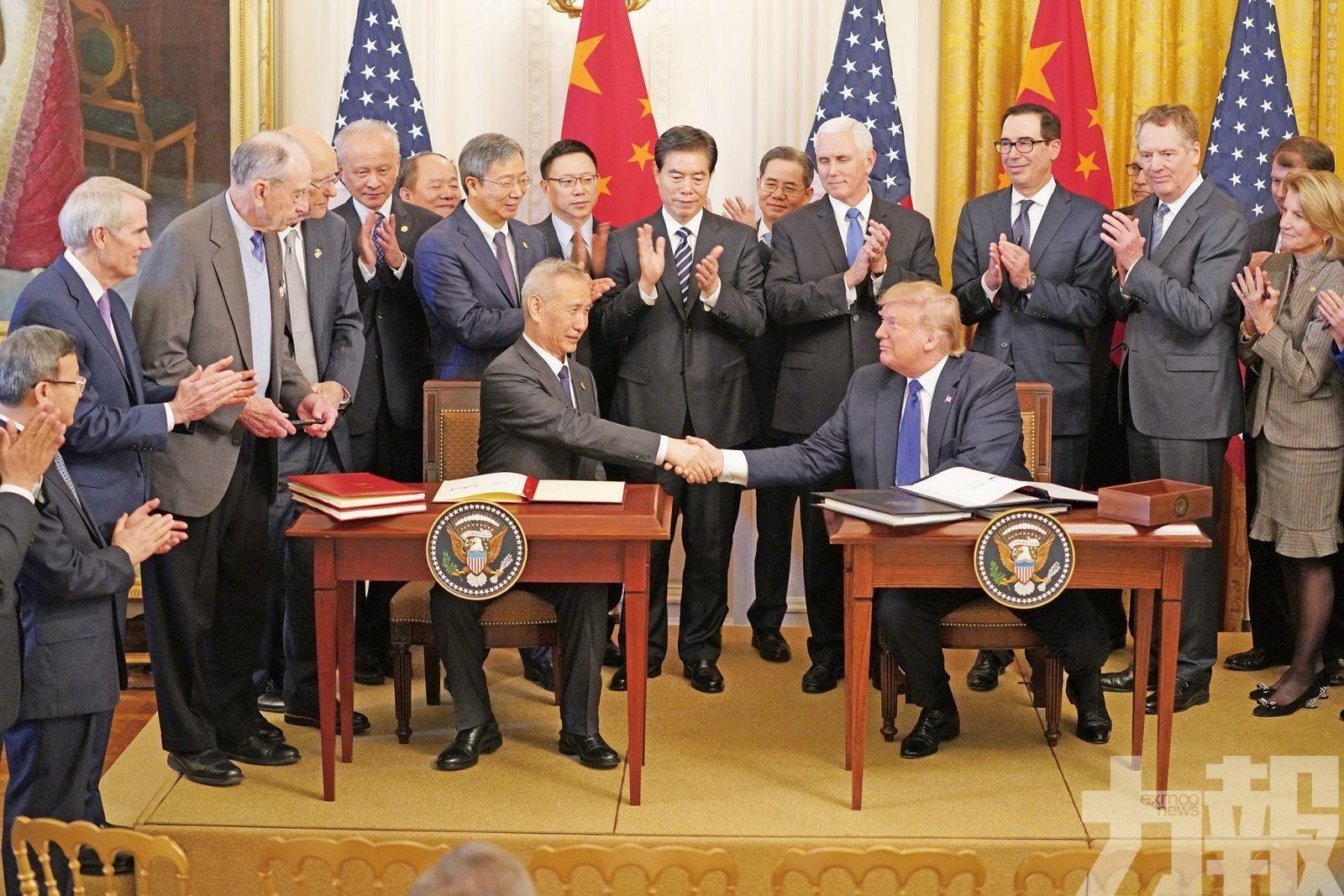 中美同意應加強合作