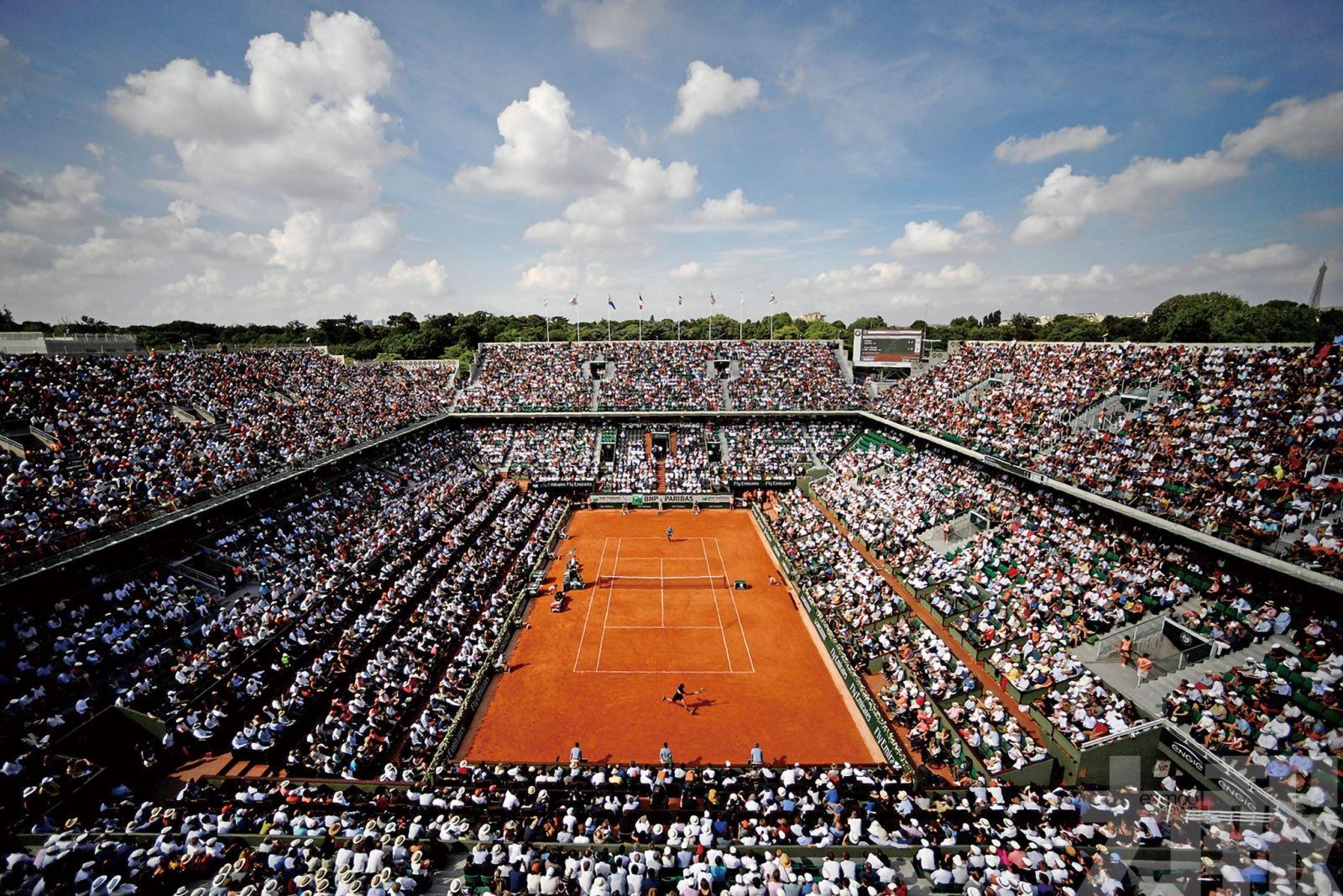法網賽會不排除賽事閉門下進行