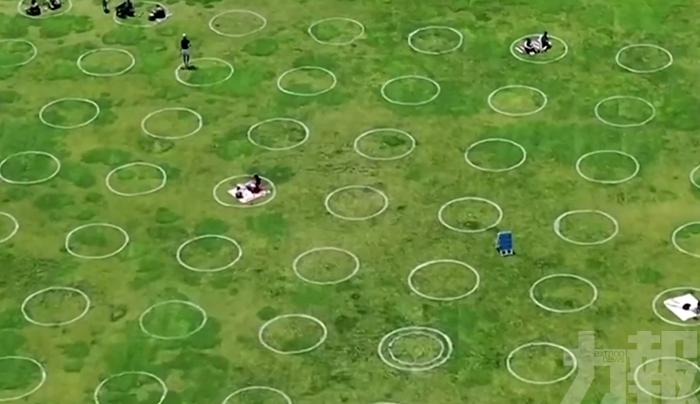 美國多地公園草坪出現「麥田怪圈」?