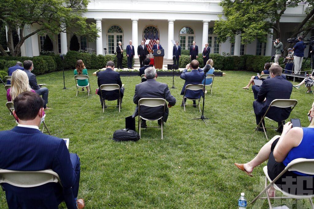 特朗普宣布終止與世衛的關係