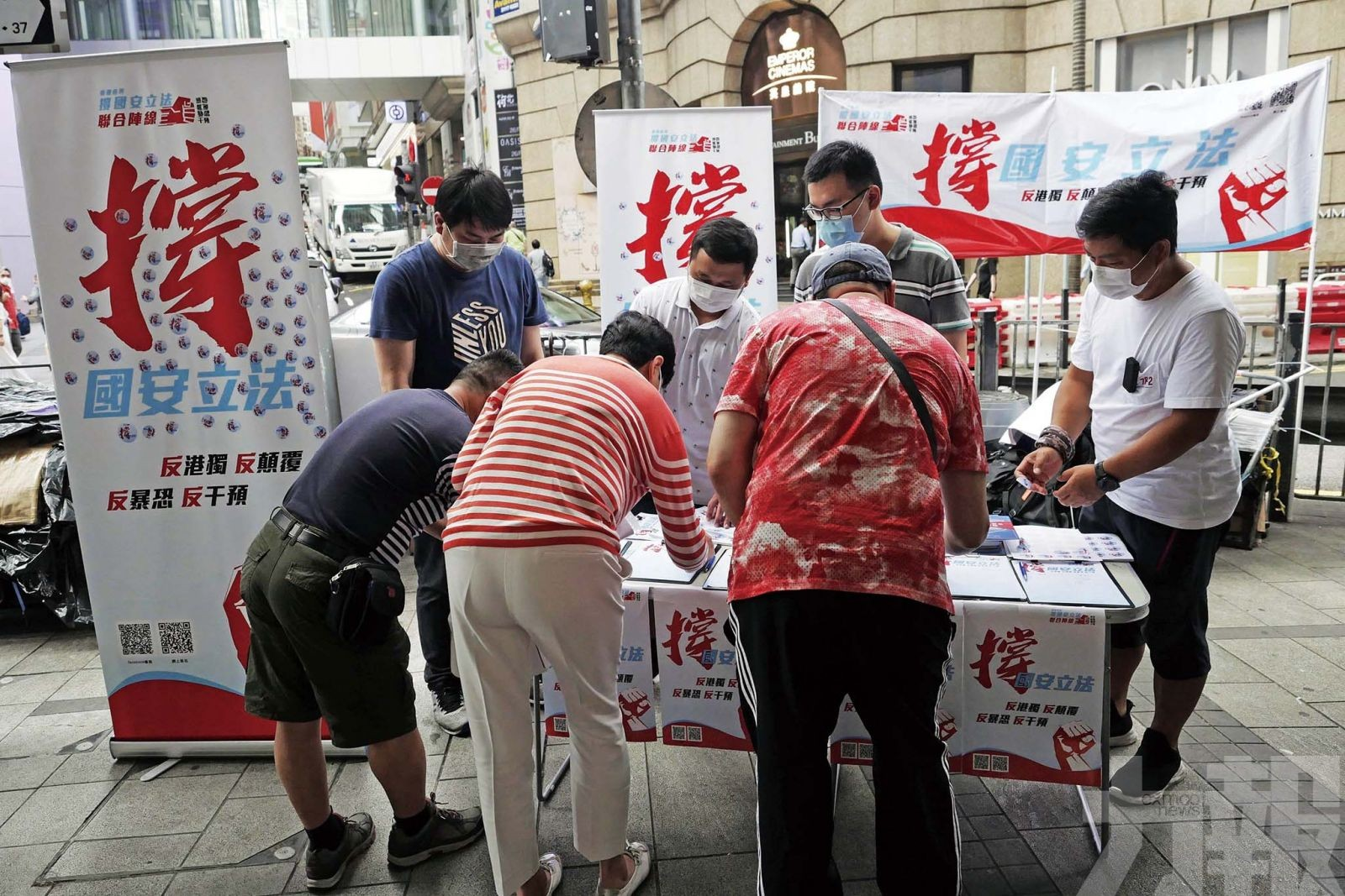 「破壞香港高度自治者正是美國」
