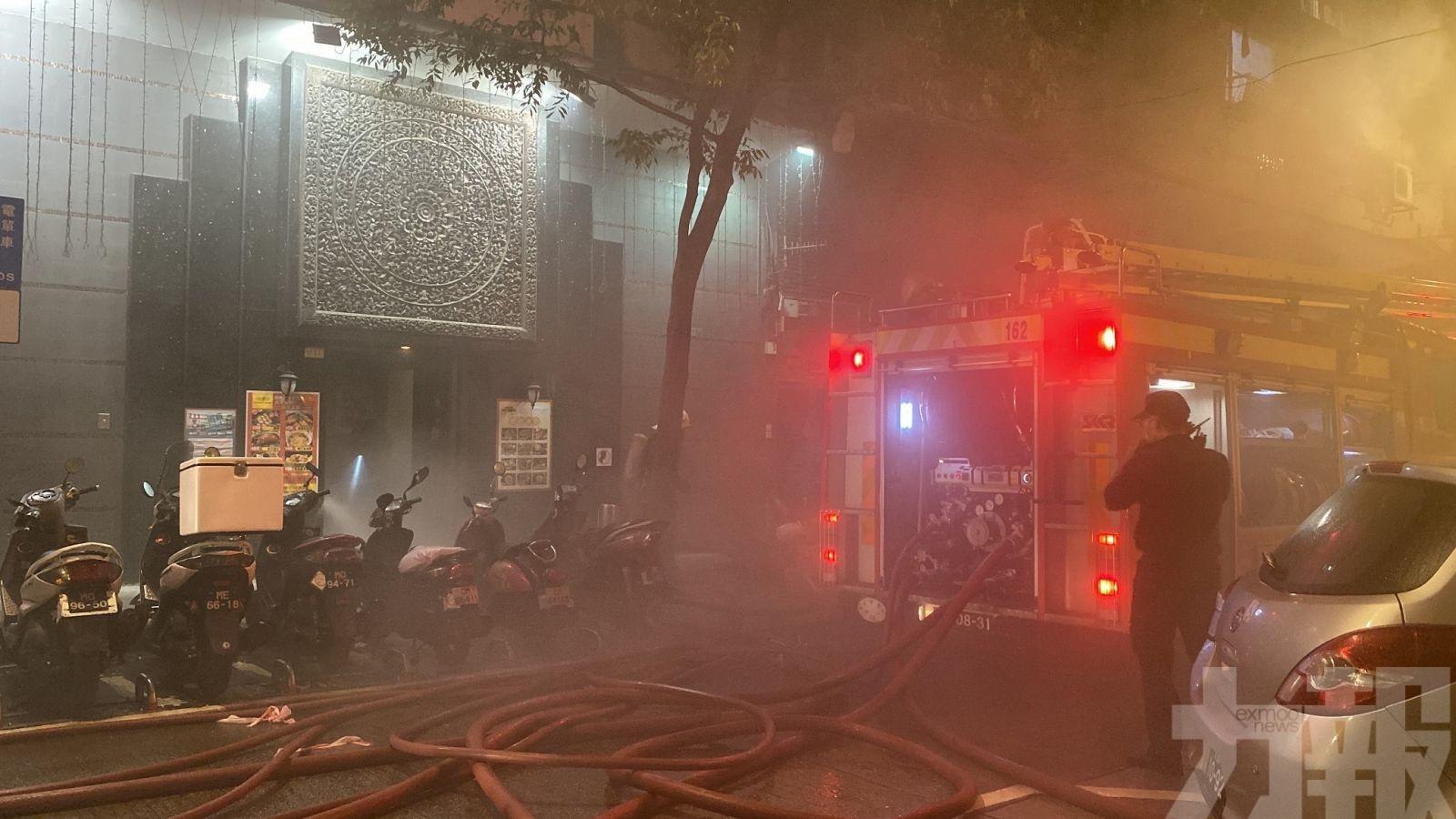消防:雀仔園火警飄散引致