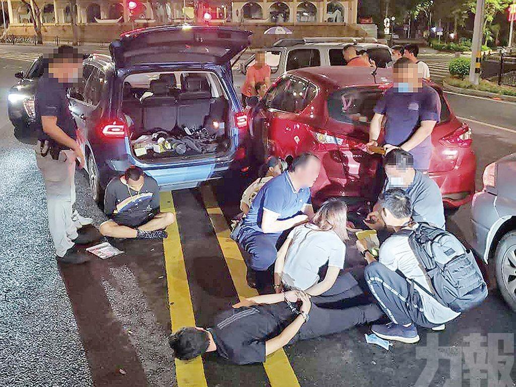 珠澳聯手偵破拘18人
