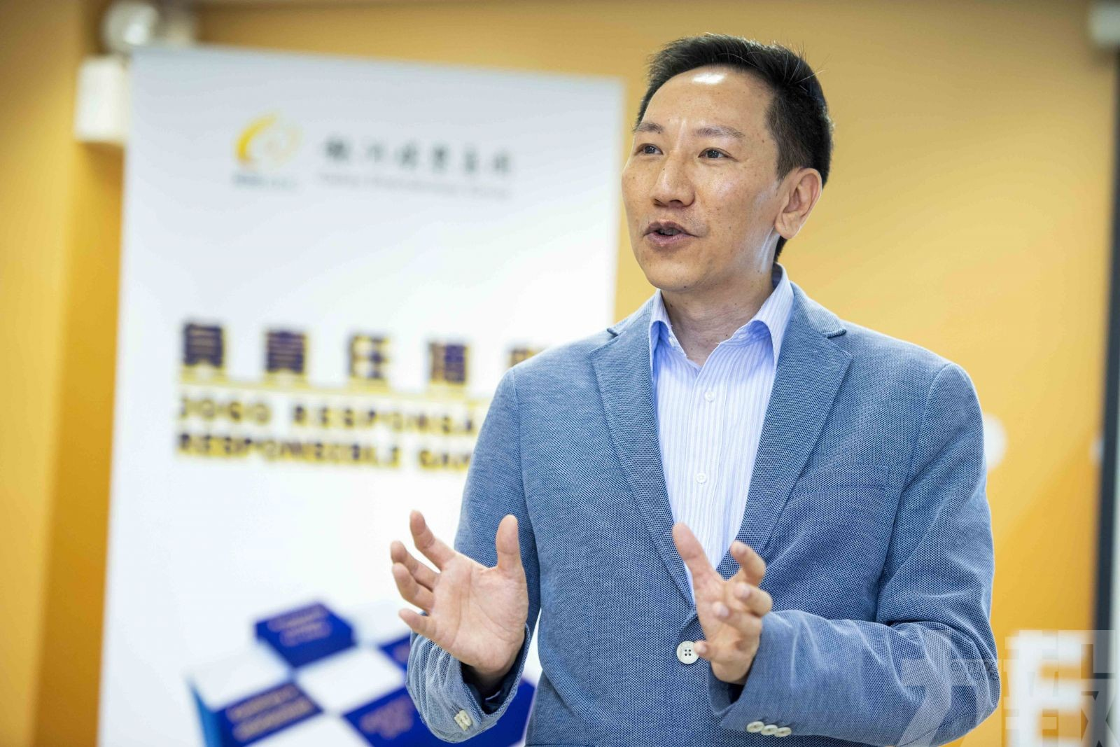 銀娛邀專家導師舉辦培訓活動