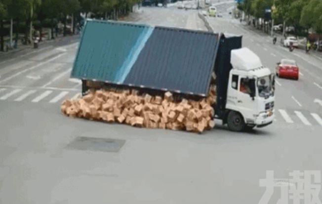 貨車司機崩潰:賠不起