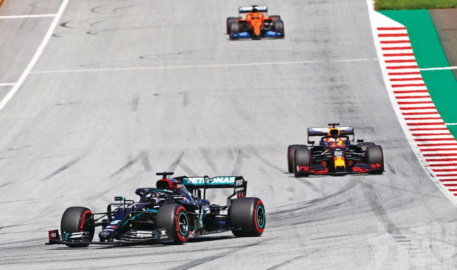 咸美頓贏今季F1首個分站冠軍