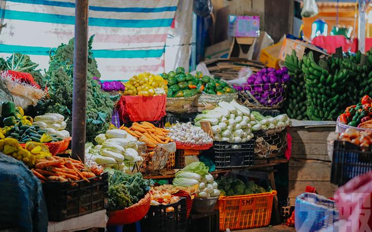 多批次蔬菜海鮮不合格