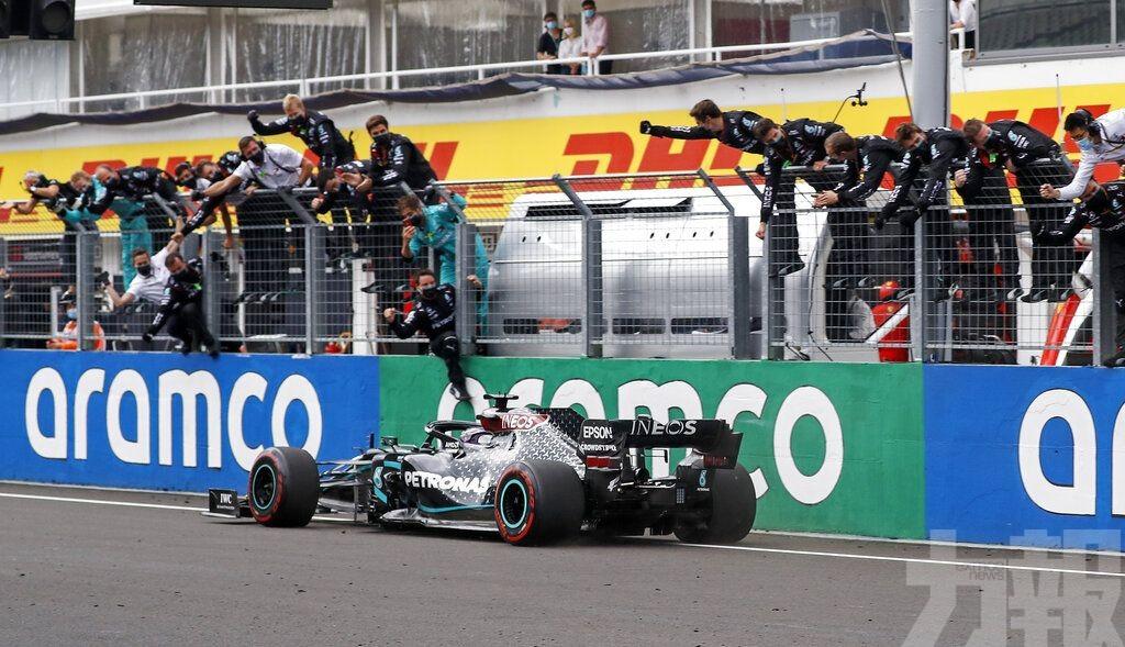 咸美頓F1匈牙利站稱霸