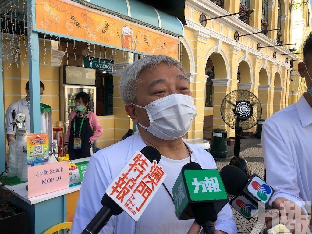 陳澤武:未有商戶反映手續費過高