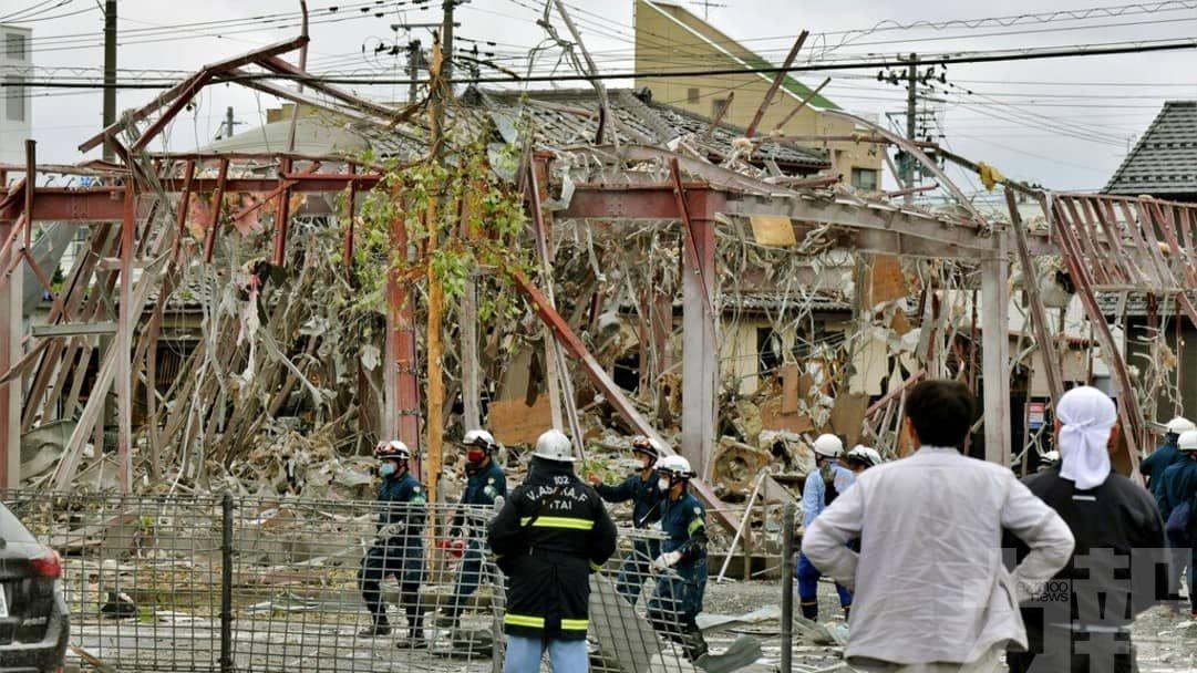 福島火鍋店疑氣體洩漏爆炸1死17傷