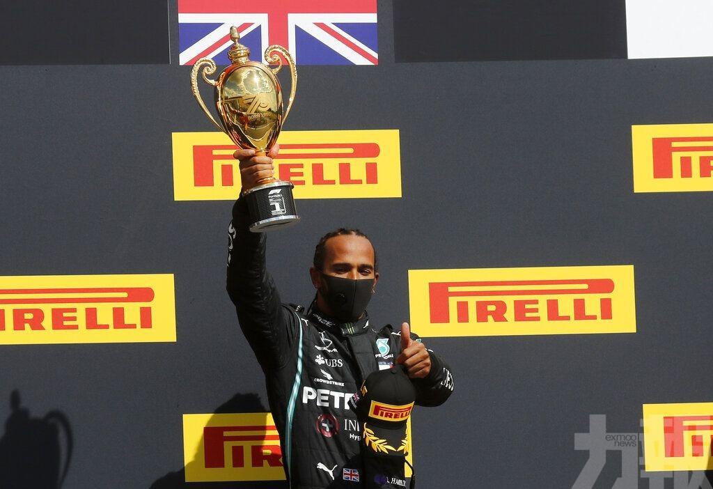 咸美頓有驚無險勝出F1英國站