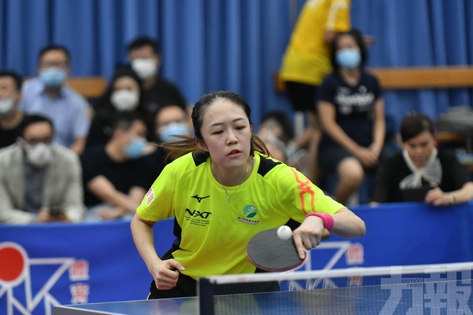 王駿黎安娜分奪男女單錦標