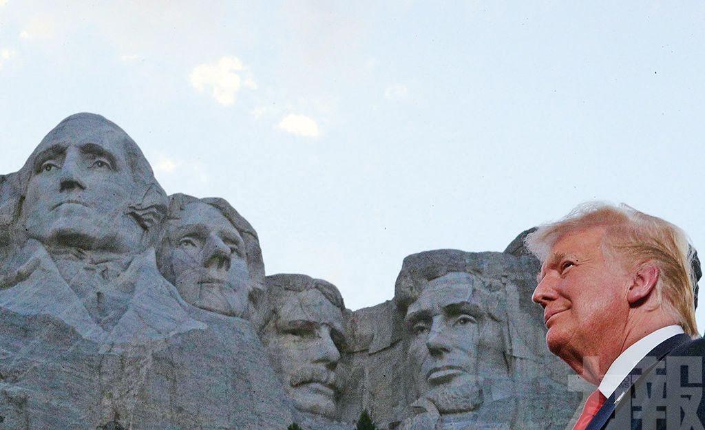 特朗普欲成「總統山」第五顆頭?
