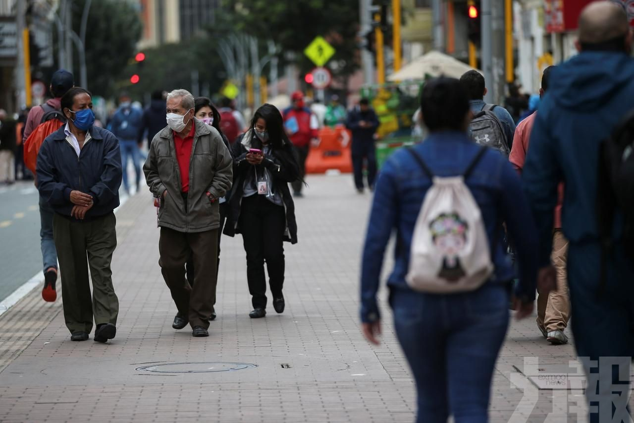 哥倫比亞10天增10萬例確診