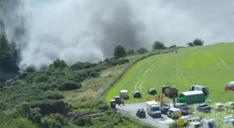 蘇格蘭列車車頭及3車廂出軌 多人重傷