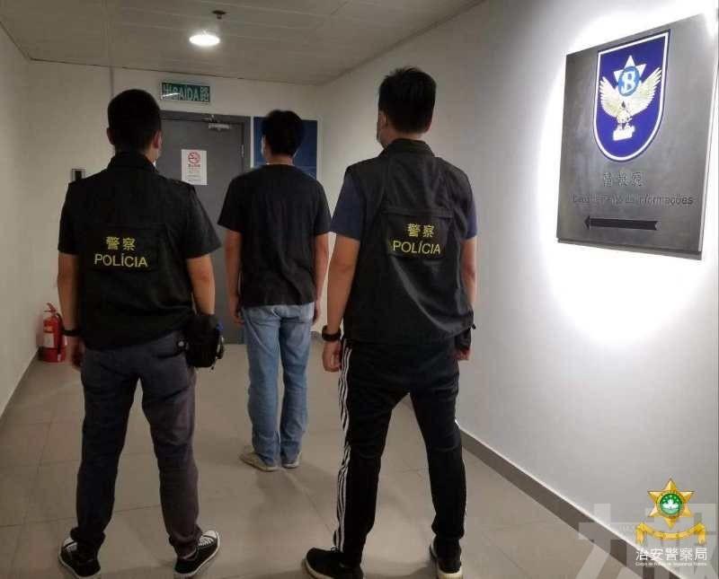 男子圓騎士夢後被警拘捕